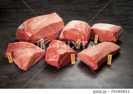 部位名称入り圧巻の和牛ブロック肉10kg 70480841