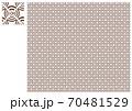 Wi-Fi和柄・菱・茶 70481529