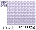 Wi-Fi和柄・菱・紫 70483526