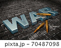 3D objects in the form of text war and cartridges for large-scale small arms 70487098