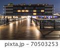 「食」をテーマにした商業施設や客船ターミナル、ホテルが一体となった複合施設。 70503253