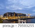 「食」をテーマにした商業施設や客船ターミナル、ホテルが一体となった複合施設。 70503255