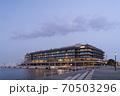 「食」をテーマにした商業施設や客船ターミナル、ホテルが一体となった複合施設。 70503296
