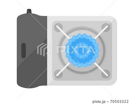 カセットコンロのイラスト 70503322