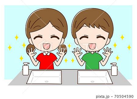 手洗い子供2 70504590