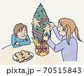 クリスマス飾り 70515843
