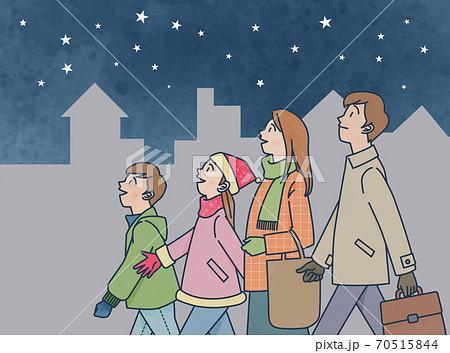 冬の星空 70515844
