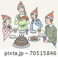 クリスマスパーティー 70515846