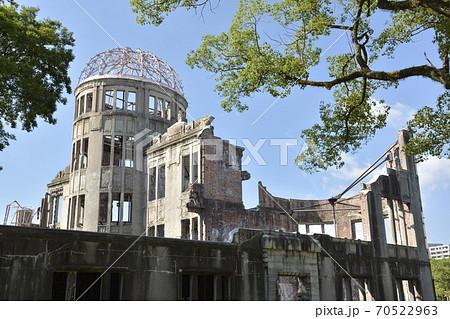 【広島県】世界遺産・原爆ドーム 70522963