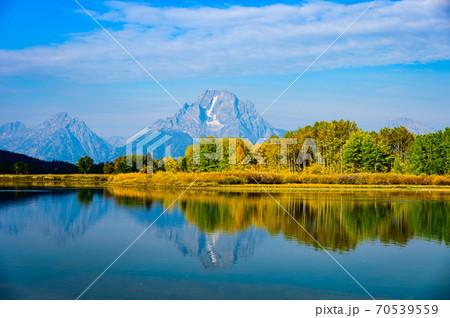グランドティートン国立公園、モーラン山 70539559