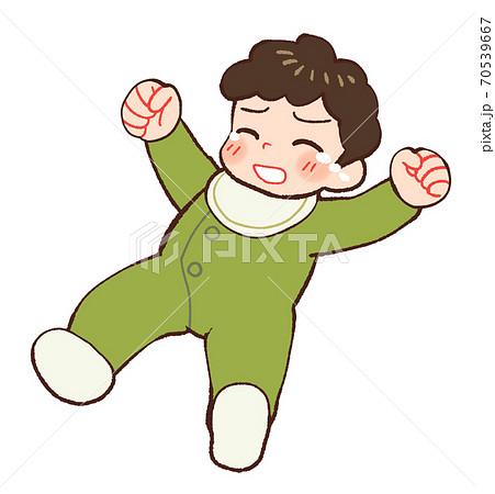 泣く赤ちゃん 70539667