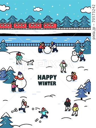겨울,감성,여행 70573242