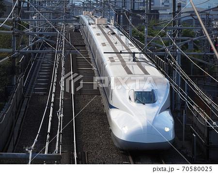 新幹線N700A 本町跨線橋にて 70580025