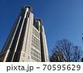 快晴の東京都庁 70595629