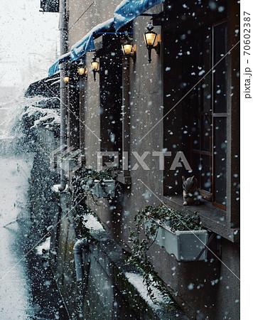 滋賀県・長浜市 ~地元の町並みと雪景色~ 70602387
