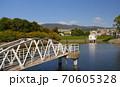 ニテコ池と甲山/兵庫県西宮市 70605328
