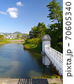 ニテコ池と甲山/兵庫県西宮市 70605340