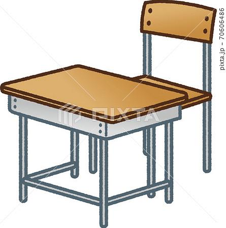 机と椅子 70606486