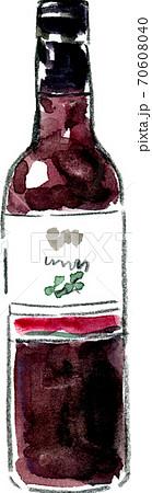 ワインボトル(赤) 70608040