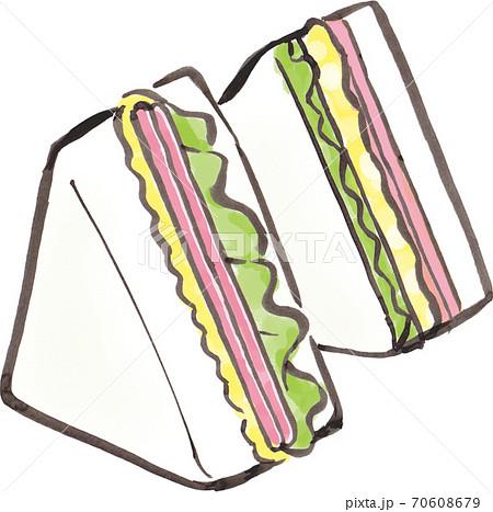 サンドイッチ 70608679