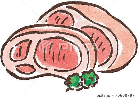 豚肉 70608797