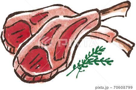 ラム肉 70608799