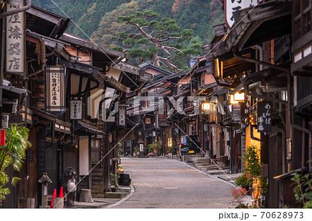 《長野県》奈良井宿・木曽の宿場町 70628973