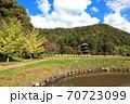 県指定有形文化座安久津八幡神社三重塔  70723099