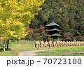 県指定有形文化座安久津八幡神社三重塔  70723100