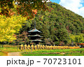 県指定有形文化座安久津八幡神社三重塔  70723101