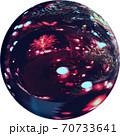 透過性PNG写真 クリスマス素材 Web素材 クリスタルボール 球 70733641