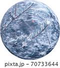 透過性PNG写真 クリスマス素材 Web素材 クリスタルボール 球 70733644