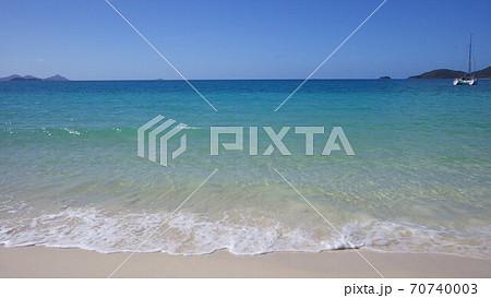 【オーストラリア】ホワイトヘブンビーチの眺め 70740003