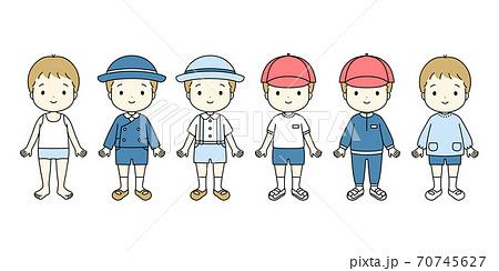 幼稚園・保育園・こども園の男の子の服装 70745627