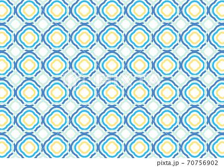 幾何学_模様_タイル_レトロ 70756902
