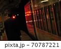 東武鬼怒川線、下今市駅に停車中の特急きぬ(100系) 70787221