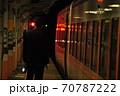 東武鬼怒川線、下今市駅に停車中の特急きぬ(100系) 70787222