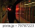東武鬼怒川線、下今市駅に停車中の特急きぬ(100系) 70787223