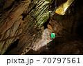 鷲沢風穴 親子滝 70797561