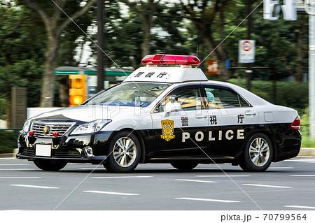 警視庁パトカー クラウン 70799564