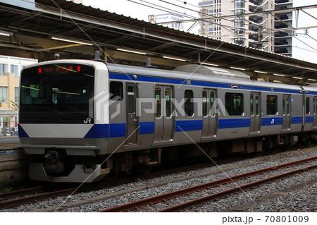 水戸線E531系(東北本線ワンマン運転対応車両) 70801009