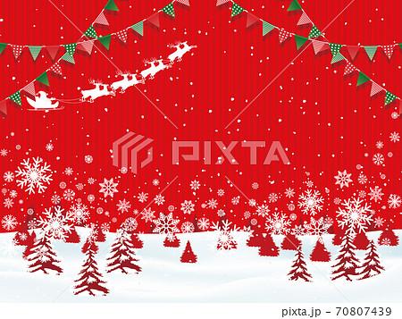 クリスマスイメージ素材 70807439