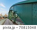 東京散歩、東京都台東区浅草近辺、隅田川橋巡り、厩橋 70815048