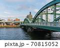 東京散歩、東京都台東区浅草近辺、隅田川橋巡り、厩橋 70815052