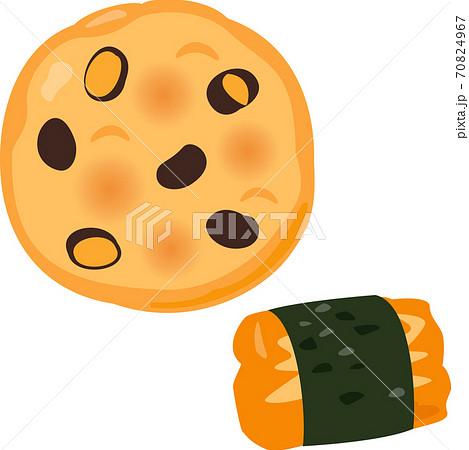 黒豆煎餅とおかき 70824967