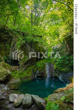 幻の滝 おしらじの滝 70834622