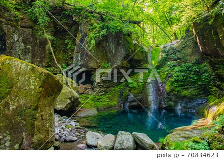 幻の滝 おしらじの滝 70834623