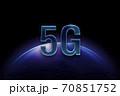 5Gの光のイメージグラフィックス 70851752