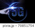 5Gの光のイメージグラフィックス 70851754