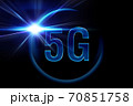5Gの光のイメージグラフィックス 70851758